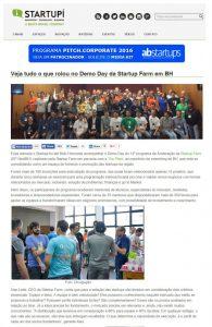 Notícias sobre o DemoDay no StarTupi