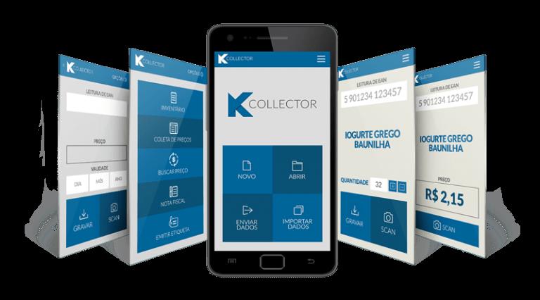 Telas Coletor de dados Kcollector