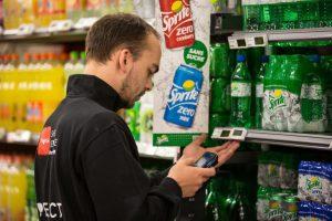 Coletores de dados para supermercados
