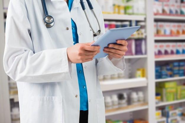 Controle de estoque em Farmácia